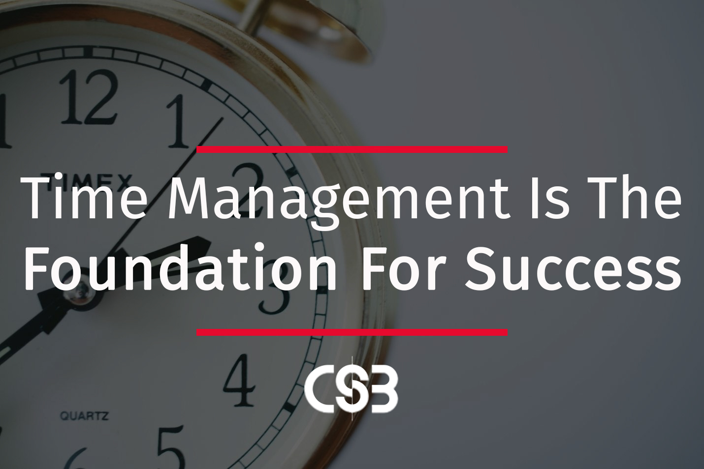 time-management-foundation-for-success